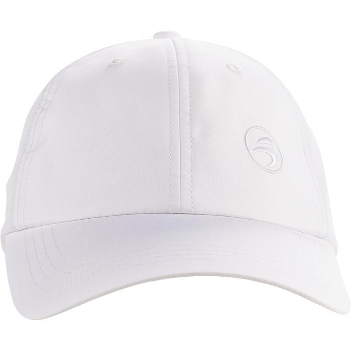 Casquette golf adulte respirante blanche
