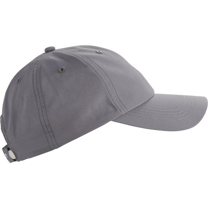 Gorra de golf gris oscuro para adulto