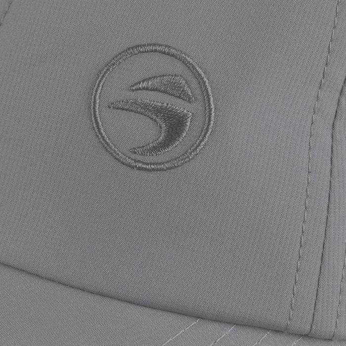 Gorra de golf adulto tiempo caluroso gris oscuro