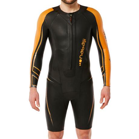 53503d1a36 Combinaison natation néoprène shorty OWS 900 5/2mm homme eau froide ...