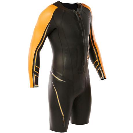da971ccaf0 Combinaison natation néoprène shorty OWS 900 5/2mm homme eau froide |  Nabaiji