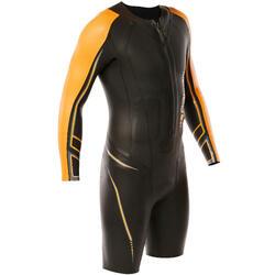 Traje natación neopreno shorty OWS 900 5/2 mm hombre aguas frías