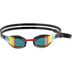 Zwembril Fastskin Elite spiegelglas zwart