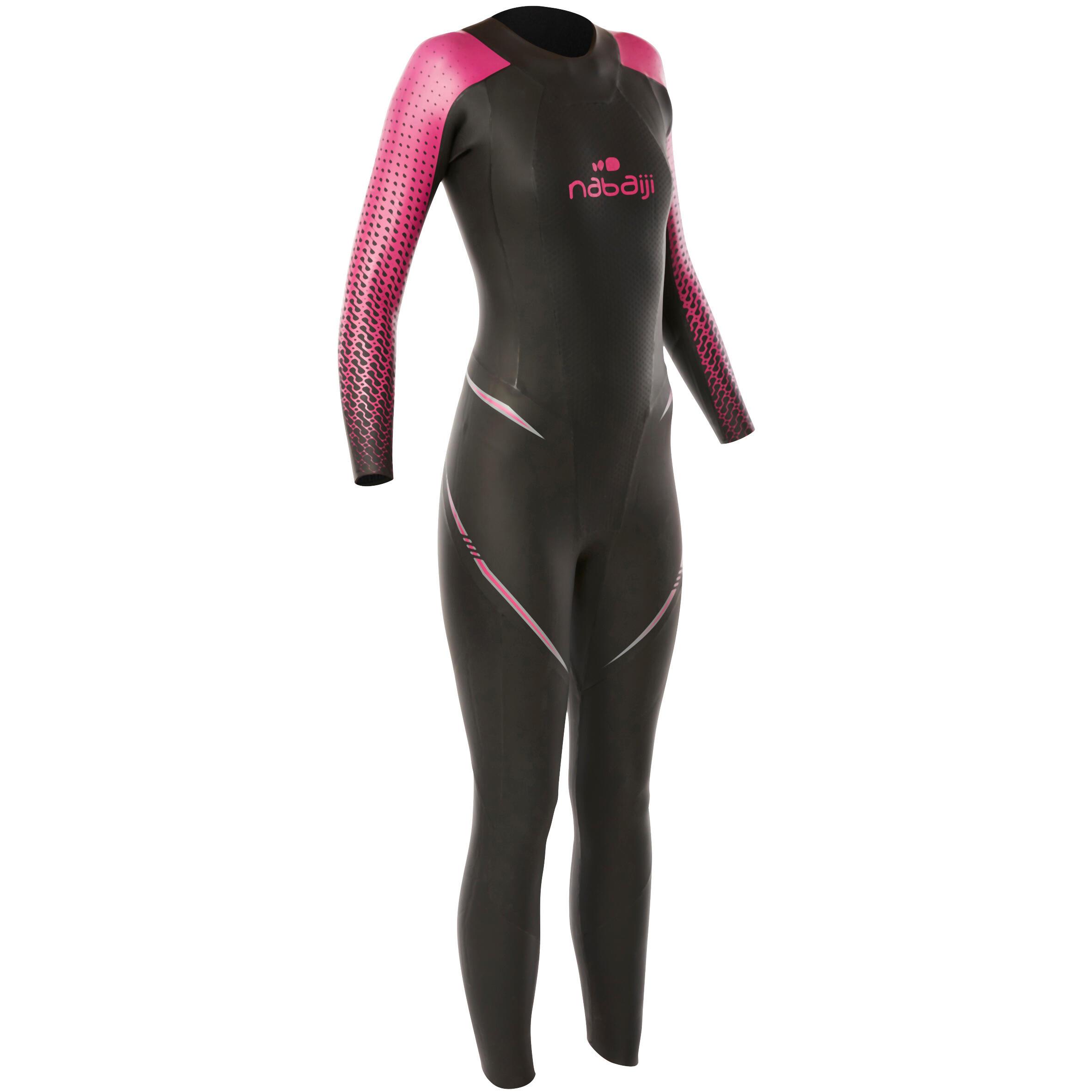 Nabaiji Neopreen dameswetsuit voor zwemmen OWS 900 4/2 mm koud water