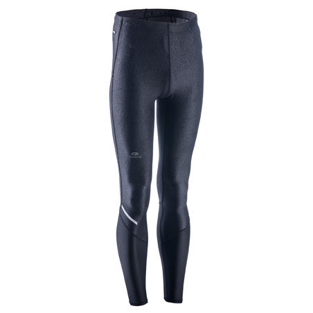 RUN DRY+ MEN'S RUNNING TIGHTS - BLACK/PRINT