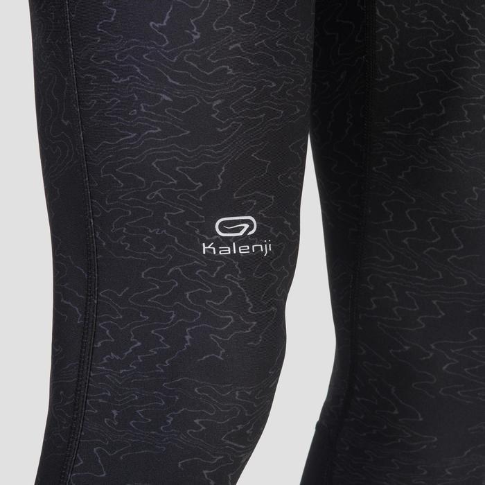 Looptight voor heren Run Dry+ print zwart