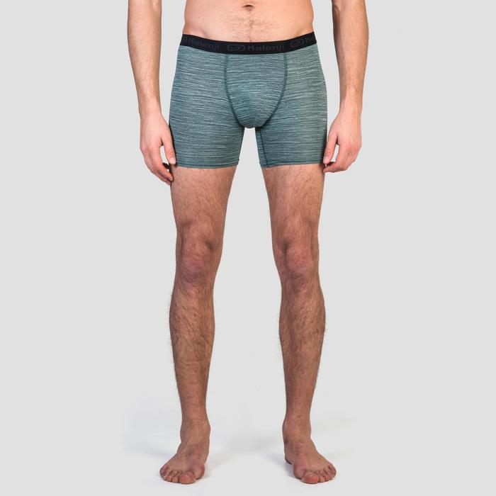 Men's Running Breathable Boxers Prussian Blue - 1330362