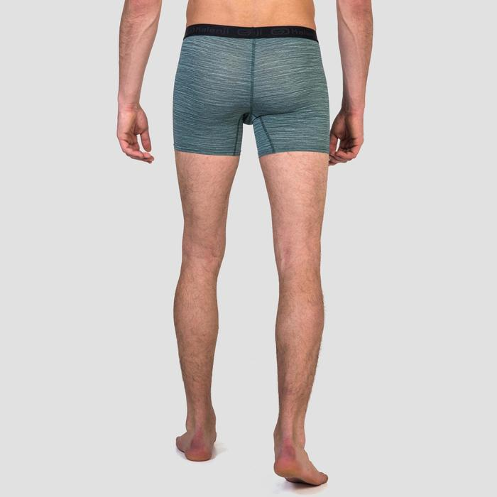 Men's Running Breathable Boxers Prussian Blue - 1330363