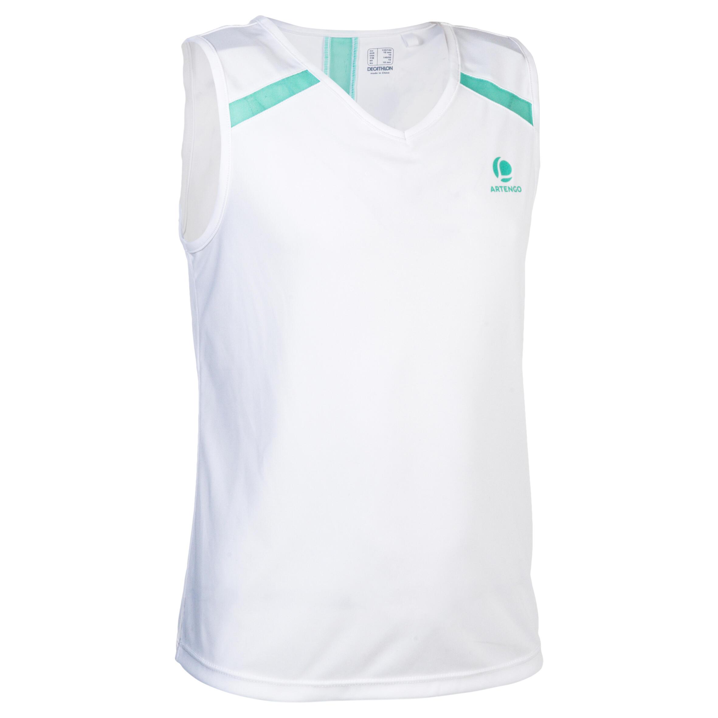Artengo T-shirt 900 meisjes wit