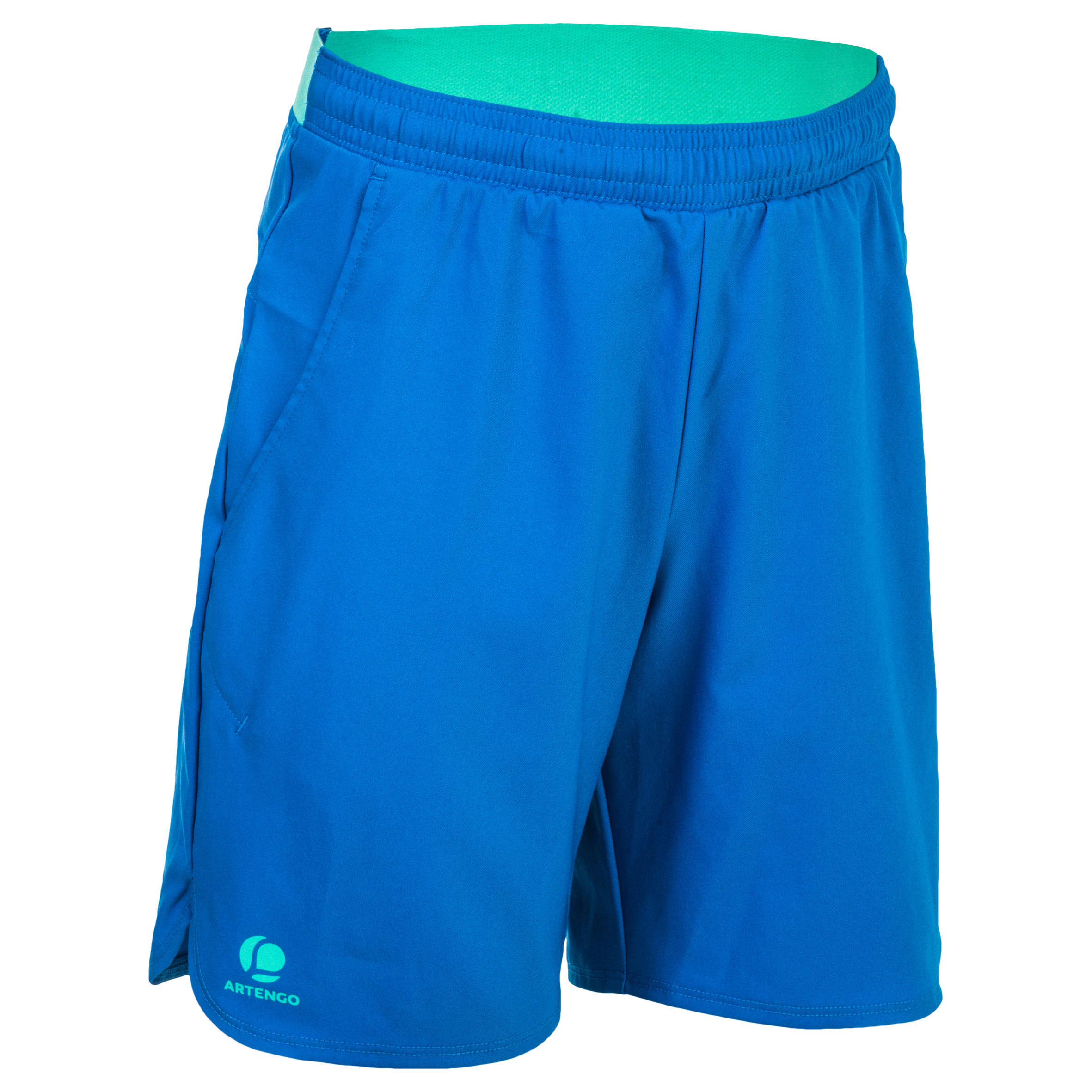 500 Boys Shorts - Blue/Green