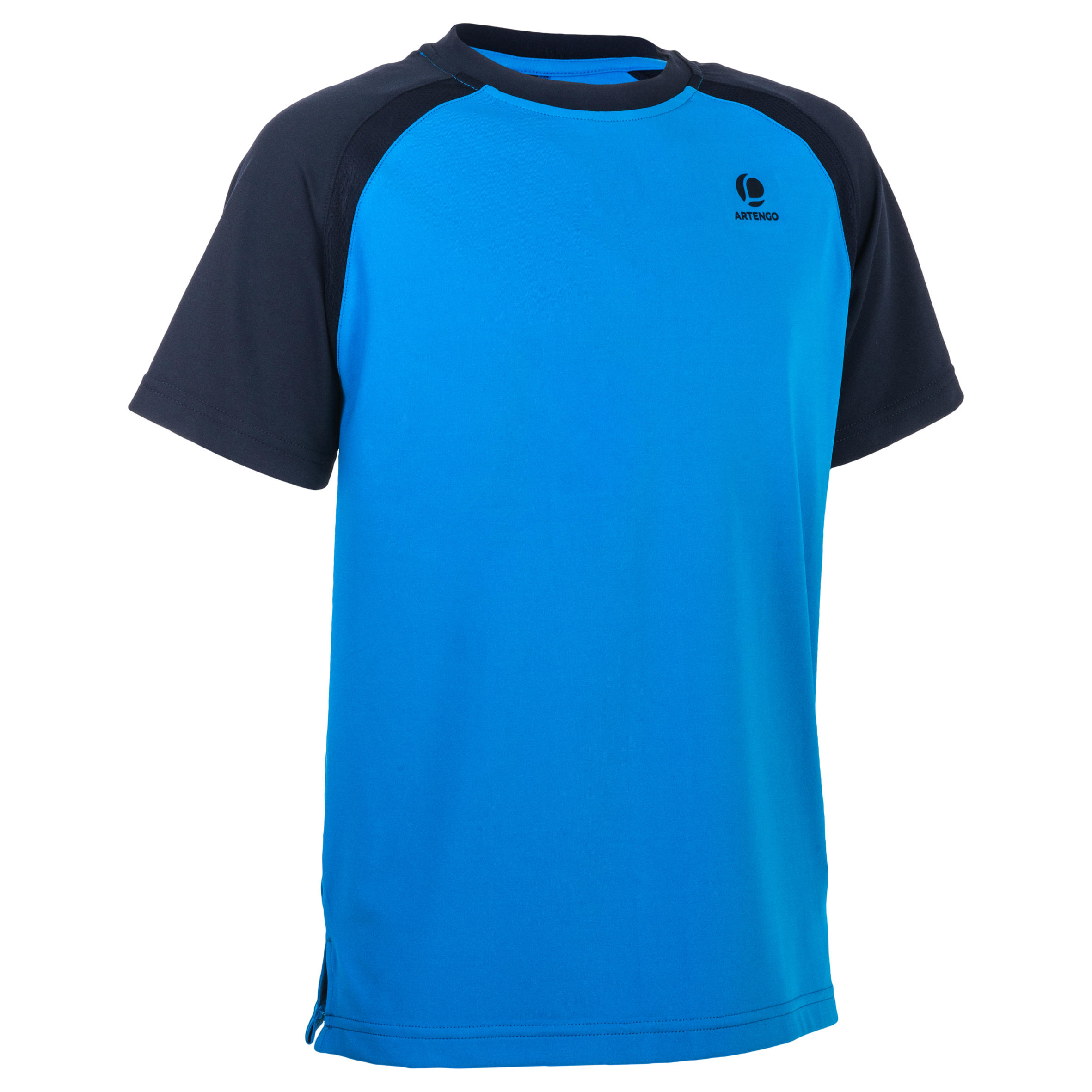 Artengo T-shirt 500 jongens blauw