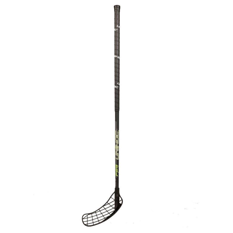 Floorball Monopattini, Roller, Skate - Mazza PLAYER 29 nera sinistra UNIHOC - Hockey su ghiaccio