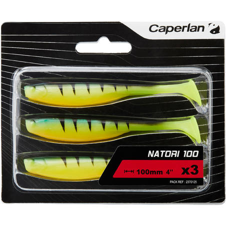 SOFT LURE NATORI 100 FIRE TIGER X3 LURE FISHING