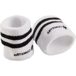 Polsband gestreept wit zwart