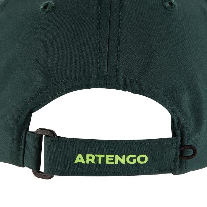 Volwassenpet voor racketsporten, Artengo, kaki/geel - 1330618