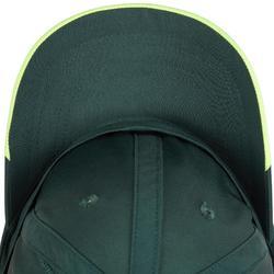 Schirmmütze Schlägersportarten Erwachsene khaki/gelb