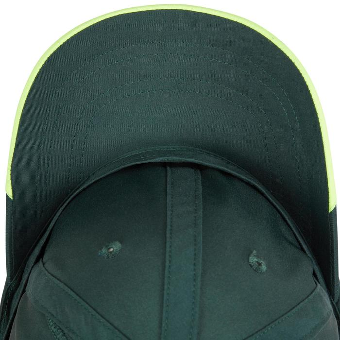 Volwassenpet voor racketsporten, Artengo, kaki/geel - 1330621