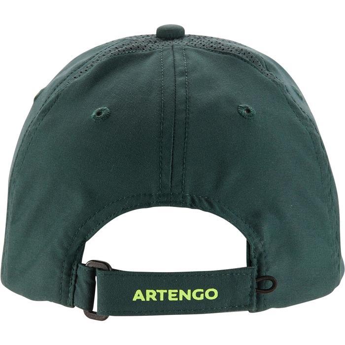Volwassenpet voor racketsporten, Artengo, kaki/geel - 1330639