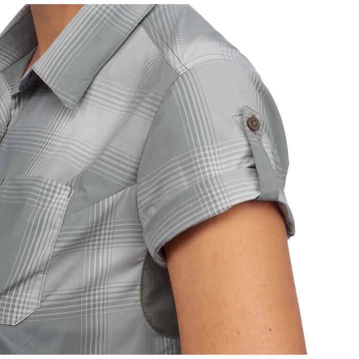 Chemises manches courtes TRAVEL 100 femme kaki