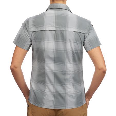 Travel 100 Women's Short-Sleeved Shirt - Khaki