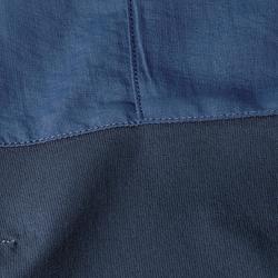 Pantalon de trek montagne - TREK 500 bleu homme