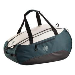 Tas voor racketsporten Artengo SB 160 kaki wit
