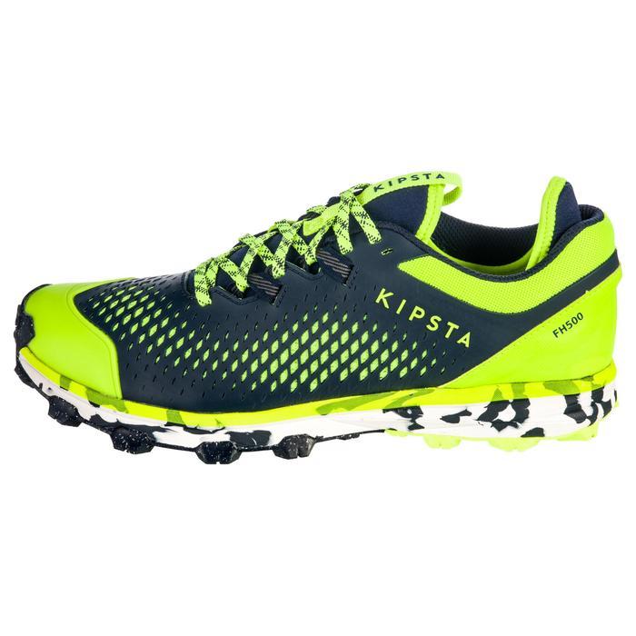 Chaussures de hockey sur gazon homme intensité moyenne FH500 vert