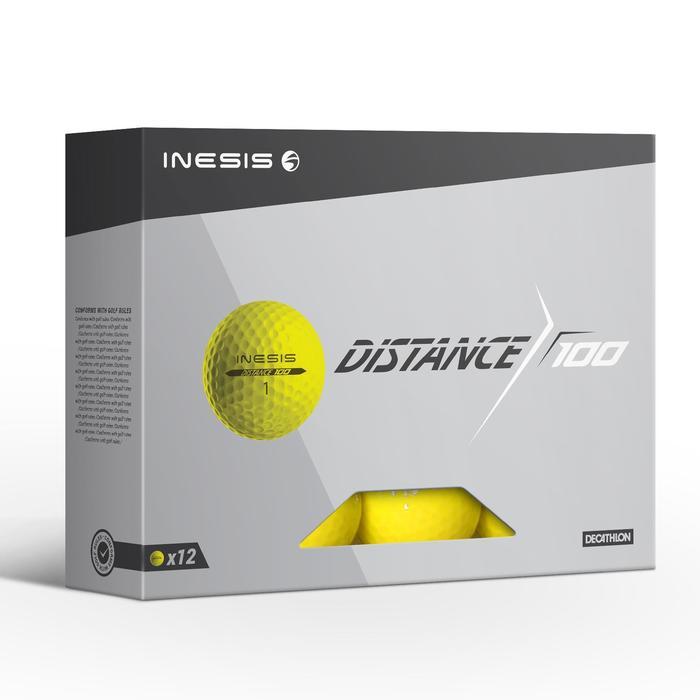 Balle de golf DISTANCE 100 X12 - 1330872