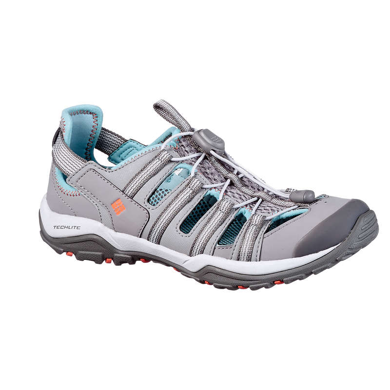 WOMEN HIKING SANDALS/SHOES WARM WEAT Hiking - Supervent ii Womens Walking Sandals - Grey COLUMBIA - Outdoor Shoes