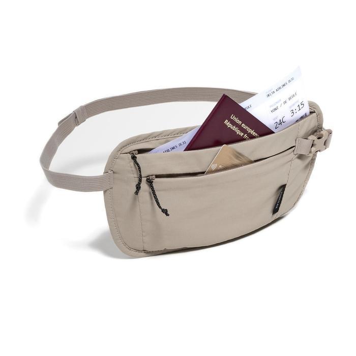 Riem met ticket-/geldhouder Travel om onbezorgd te reizen