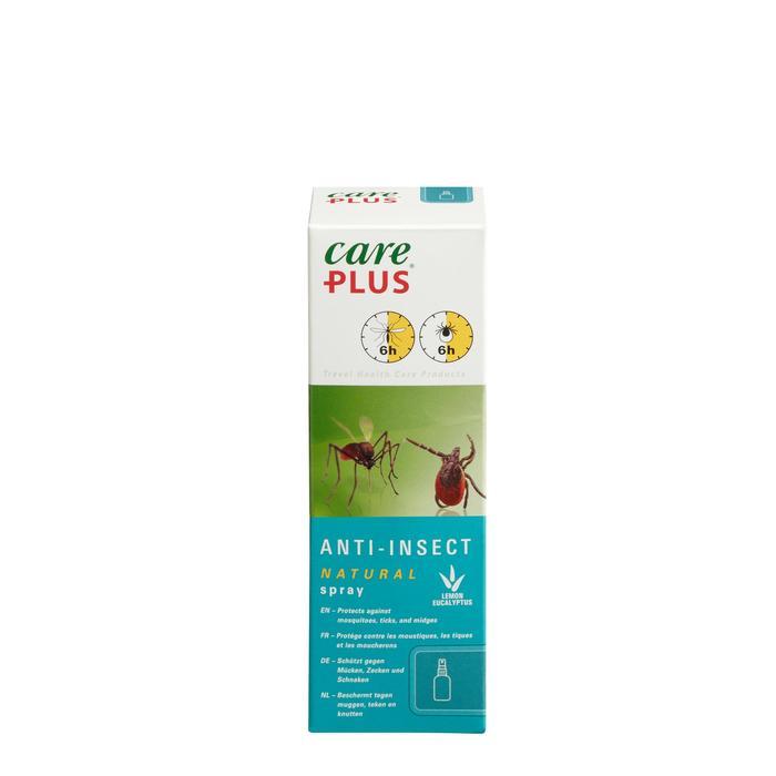 Spray répulsif anti-moustique CARE PLUS NATURAL 60ml - 1330984