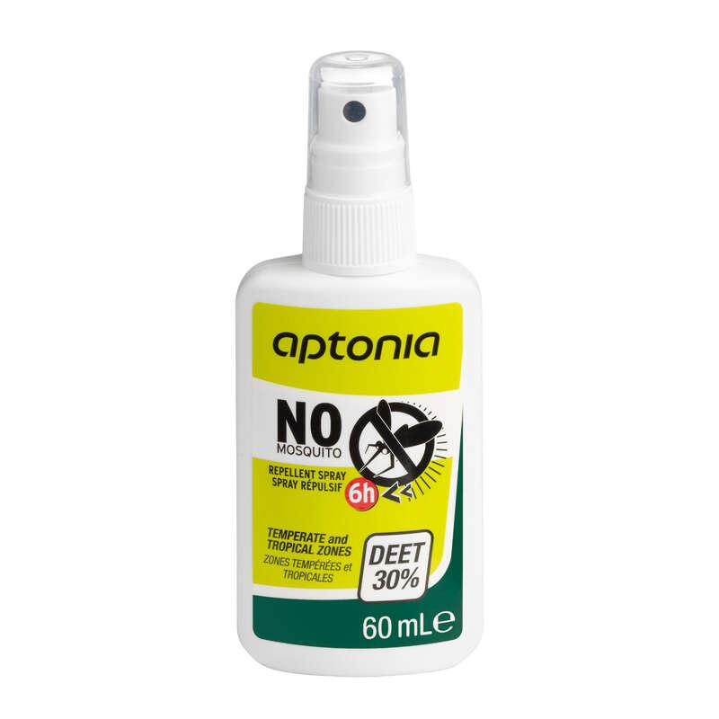PROTEÇÃO CONTRA INSETOS Cuidados e Palmilhas - SPRAY REPELENTE APTONIA -60 ml FORCLAZ - Cuidados no Desporto