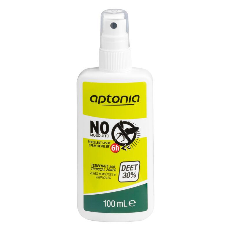 Spray Repelente De Insectos Montaña Y Trekking Forclaz DEET 30% 100 ML