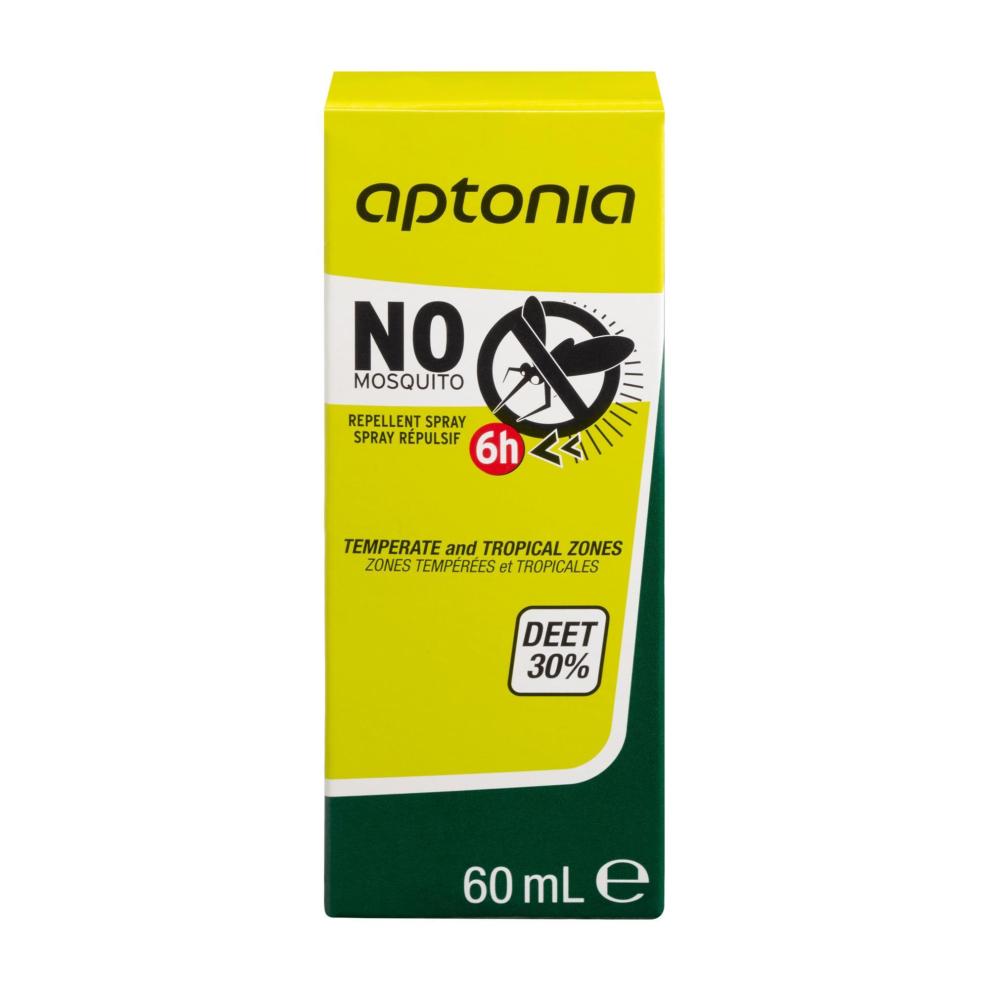 ANTI-INSECTE VAPORISATEUR APTONIA DEET 30% 60 ML - Forclaz