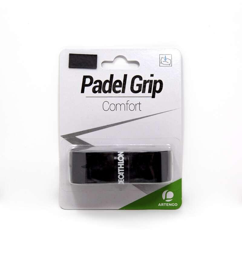 ACCESSORI PADEL Sport di racchetta - Grip COMFORT nero ARTENGO - PADEL