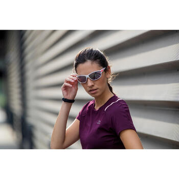 Óculos de Corrida RUNSTYLE Adulto Cinzento/Violeta Categoria 3