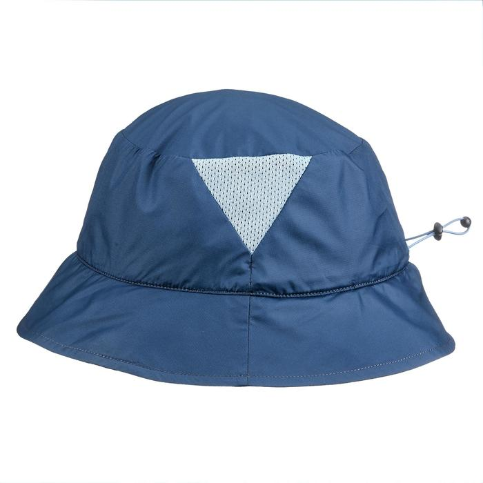 Gorro de trekking en montaña TREK 100 LIGHT ultracompacto azul