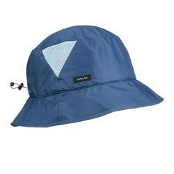 Ultracompact bobhoedje voor bergtochten Trek 100 Light blauw
