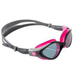Gafas Natación Piscina Speedo Biofuse Adulto Negro/Rosa Entrenamiento Antivaho