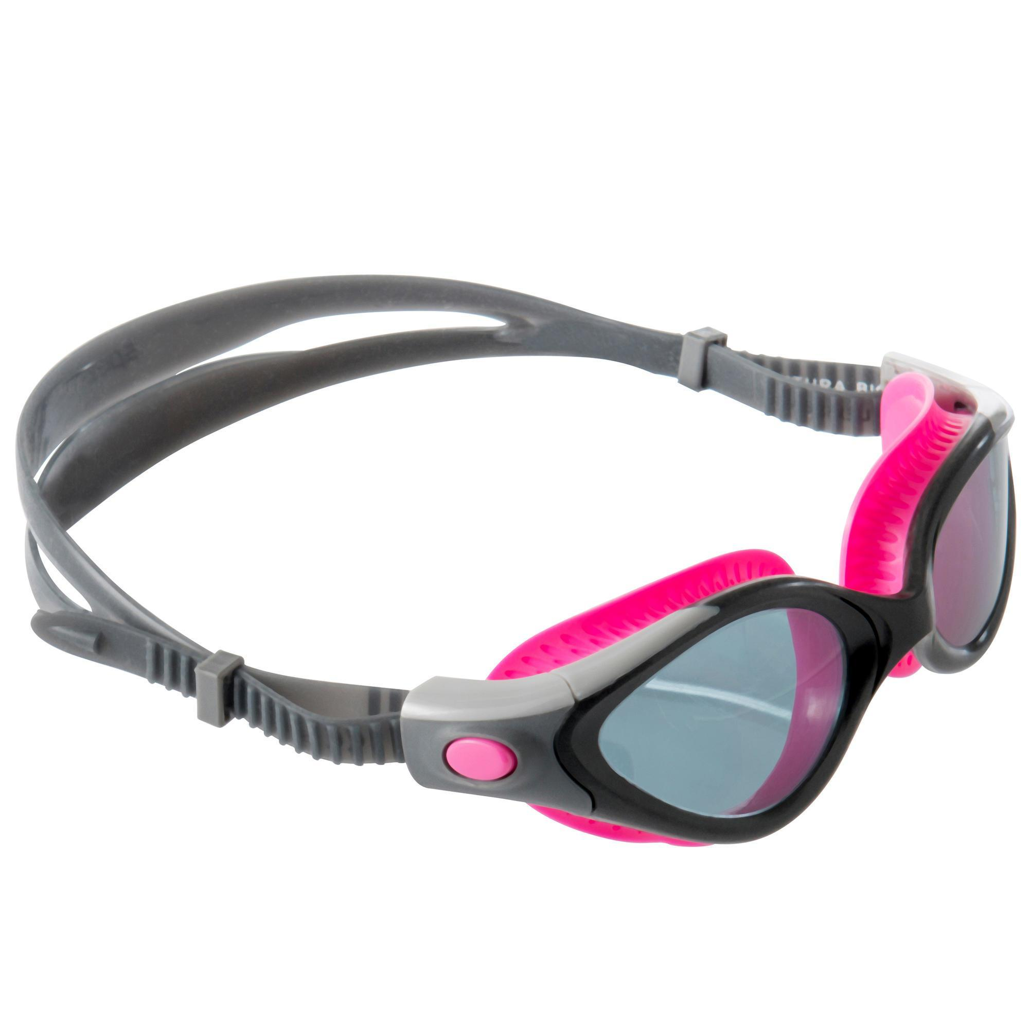Speedo Zwembril Futura Biofuse Flexiseal dames roze