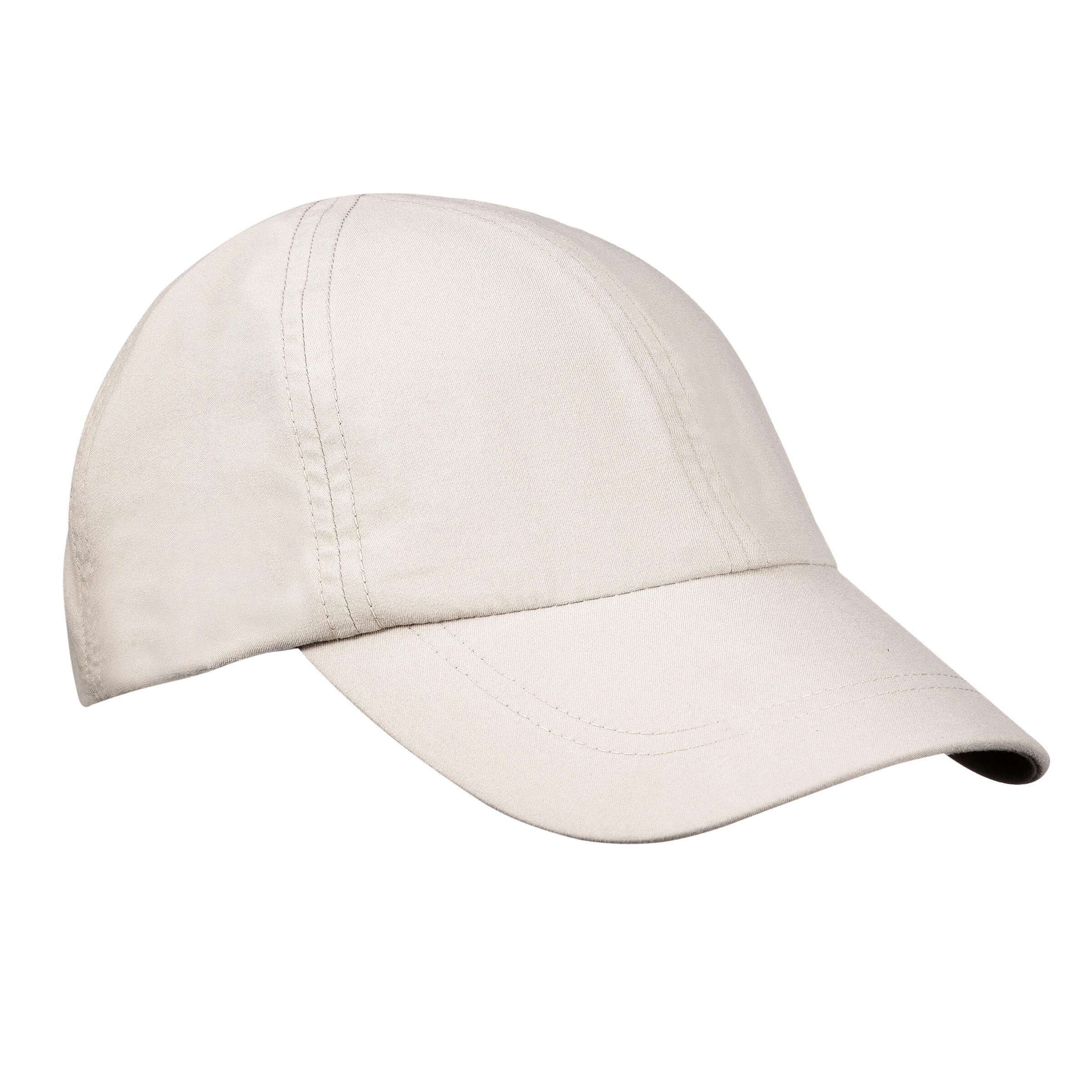 Schirmmütze Cap Trekking 100 beige | Accessoires > Caps | Beige | Forclaz