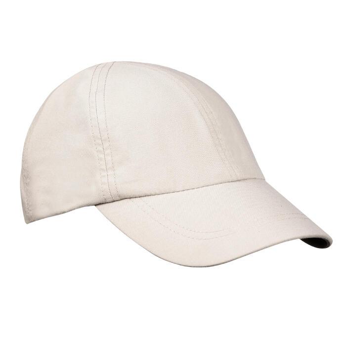 Schirmmütze Cap Trekking 100 beige