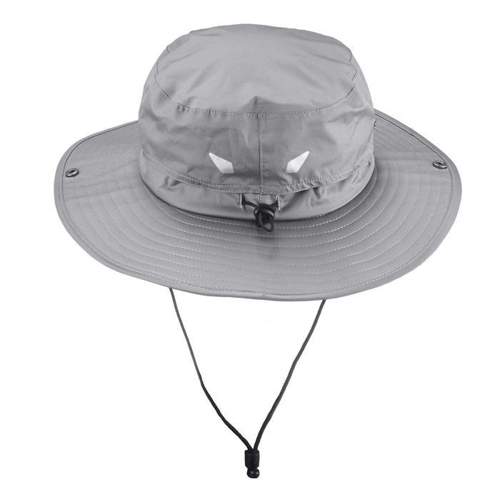 Chapeau de Trekking Montagne TREK 900 imperméable gris foncé - 1331144