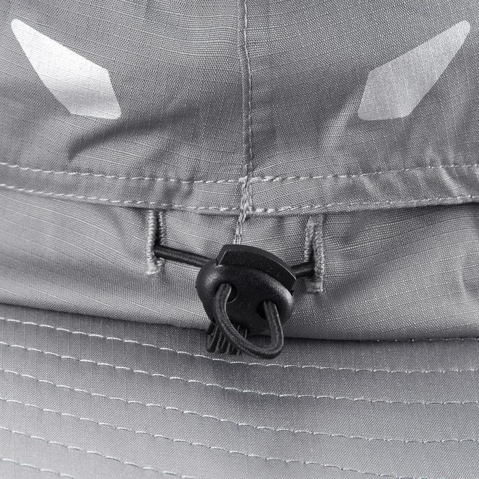 Chapeau de Trekking Montagne TREK 900 imperméable gris foncé - 1331145