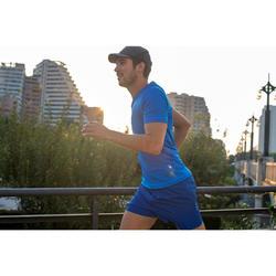 GORRA DE RUNNING NEGRA AJUSTABLE 55-63 cm.