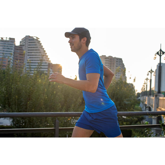 GORRA DE RUNNING NEGRA PARA HOMBRE CONTORNO DE CABEZA 55-63 cm