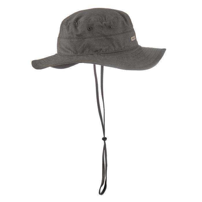 Sombrero de trekking en montaña TREK 100 caqui
