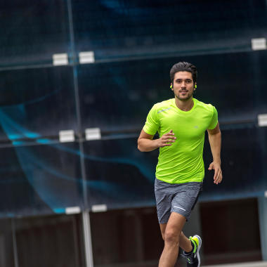 Laufen während Corona-Virus