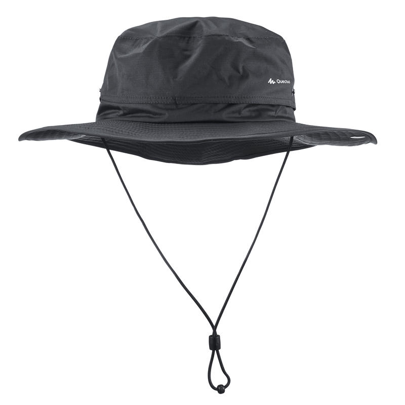 Mũ chống thấm leo núi dã ngoại 900 - Xám sẫm