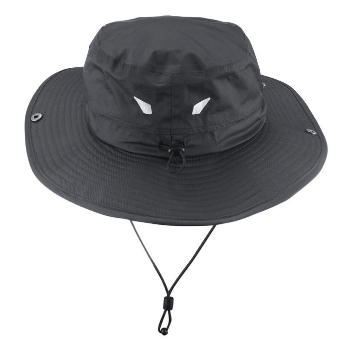 Chapeau de Trekking Montagne TREK 900 imperméable gris foncé - 1331206